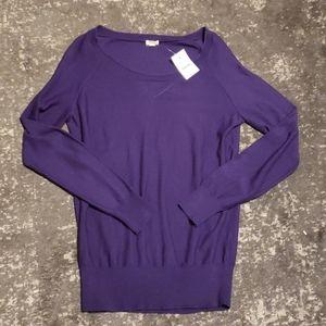NWT J. Crew lightweight merino wool sweater